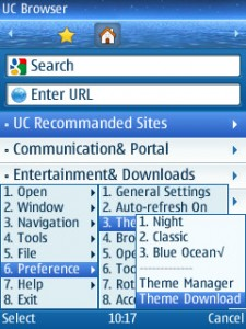 UC Browser 7 2 - Web and WAP Browser - Java-Phones com