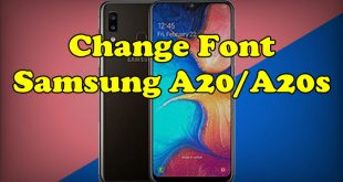 Change Font Samsung A20