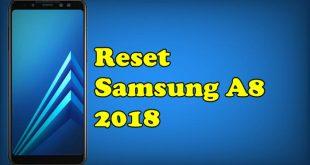 Reset Samsung A8 2018