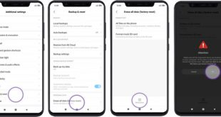 Factory Reset Xiaomi Settings Option