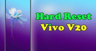 How To Reset Vivo V20
