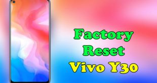 How To Reset Vivo Y30