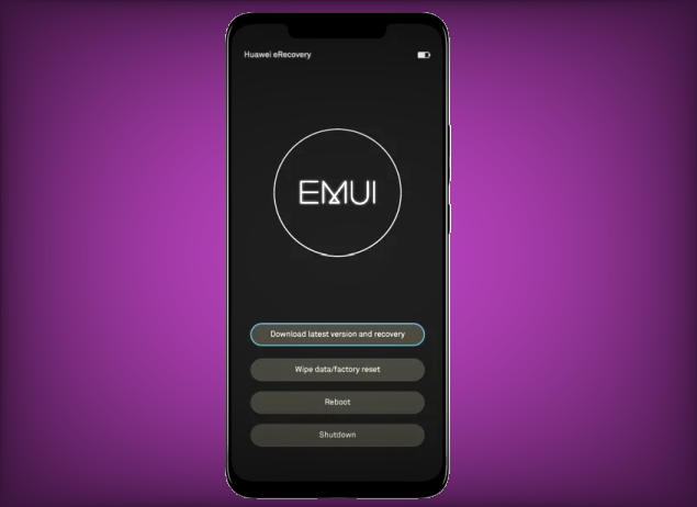 Hard reset Huawei Mate 10 Lite from Recovery