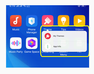 App Info Theme Store Oppo